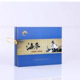 Boîtes-cadeau faites sur commande promotionnelles de estampage chaudes de doublure en soie
