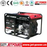 10kVA 10kw 4 Anfall-bewegliche elektrische Anfangsbenzin-Treibstoff-Generatoren
