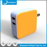 Заряжатель перемещения мобильного телефона USB порта OEM всеобщий двойной