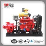Xbcのディーゼル機関の火のための水平の多段式水ポンプ