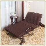 Het goedkope Bed van het Metaal van de Luxe voor het Volwassen Eenpersoonsbed van het Frame van het Metaal
