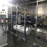 Spruzzo delle parti di plastica/riga di rivestimento UV automatici senza polvere