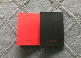 Cuaderno Softcover A6 con la montura que cose el libro creativo