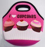 カスタマイズされたカラーはネオプレンのピクニックによって絶縁される買物をする昼食袋を模造する