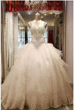 2017 Dazzling Beaded Off-Shoulder Bridal Wedding Dresses PLD3206