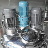 Tipo creme do homogenizador do dispersador do aço inoxidável de pele que faz a máquina