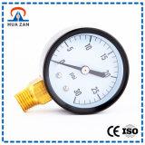 Utilização do Manômetro de Pressão Baixa pressão hidráulica do tubo em U simples