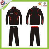 Tuta sportiva sottile ricamata vestito su ordinazione di sport di inverno degli uomini di misura di marchio