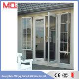 Prix en aluminium externe de porte de tissu pour rideaux de Guangzhou