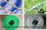 2 capítulos de 4 puntos Alambradas cercas/ recubierto de PVC de la bobina de alambre de púas