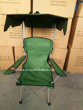 Metal plegable con la silla que acampa superior