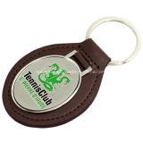 고품질 주문을 받아서 만들어진 차 로고 Keychain PU 가죽 Keychain