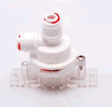 Aucun détecteur électrique de fuite pour le filtre d'eau