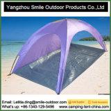 Barraca de dobramento fácil da praia da proteção da pessoa UV50+ Sun do festival 1-2