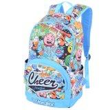 Le sac à dos personnalisé de qualité de sac à dos d'acclamation stigmatise les sacs de livre colorés