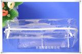 Bolsa de presente de plástico PEVA biodegradável e brilhante para produtos de cuidados de saúde
