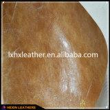 Couro oleoso do plutônio do Synthetic para as sapatas Hx-S1760