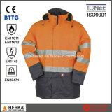 Прокладывать отражательную куртку Пожар-Предохранения безопасности