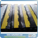 3 Kanäle PU-Plastikhochleistungskabel-Rampe