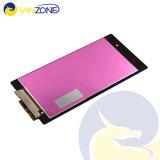Het in het groot OEM Originele Echte Zwarte LCD Scherm met de Assemblage van de Becijferaar van het Scherm van de Aanraking voor Sony Z1 L39h