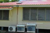 Nettoyeur solaire hybride fixé au mur avec la technologie Double-Mettante en sommeil