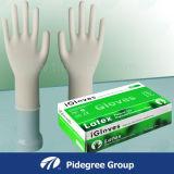 Wegwerflatex-Prüfungs-Handschuh-Puder