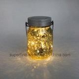 Proteção Ambiental Solar Firefly Jar Lights com piscar
