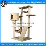 Umweltfreundliches Merkmal und Haustier-Spielwaren-Typ Form-Katze-Baum
