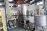 Auto linha de produção de engarrafamento de enchimento bebendo da maquinaria da embalagem do líquido para o frasco do animal de estimação
