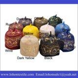 Hilo de lana de la cadena de punto Gorra Islanmic sombrero de rezo Mantener para el calentamiento
