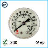 gas o líquido 005 45m m médico de la presión del surtidor del calibrador de presión