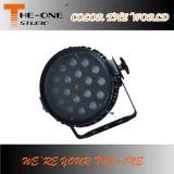 18*10W RGBW 옥외 IP65 LED 단계 동위