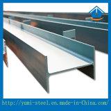 Poutres en double T en acier galvanisées pour le support de faisceaux de passerelle ou d'usine