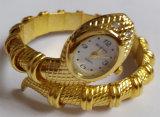 Reloj del cuarzo de la pulsera del brazalete de promoción de marca