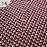 소파 (FTH31950)를 위한 빨간 기하학 폴리에스테 셔닐 실 직물