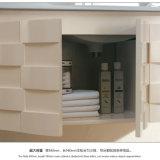 Vanidad sanitaria moderna Floor-Mounted del cuarto de baño de las mercancías de madera sólida del estilo