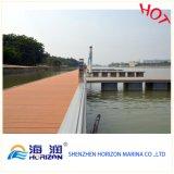 Decking composito variopinto per il bacino di galleggiamento della barca