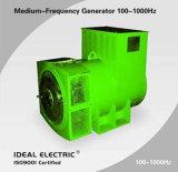 100-1000Hz niedrige U/Min Geschwindigkeit schwanzloser synchroner Wechselstrom-Drehstromgenerator-dreiphasiggenerator