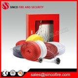 Camisa de poliéster colorido forro de PVC flexível de combate a incêndios