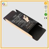 Casella impaccante di carta cosmetica nella stampa su ordinazione