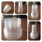 Cubeta de plástico de polipropileno de alta velocidad con termoformadora apilador (PP-660)