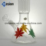 8 bras d'arbre 1 pipe en verre d'eau de Perc de dôme (BY002)
