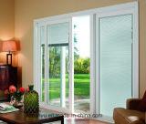 現代ブラインドの内部の倍ガラス窓またはアルミニウムブラインドWindows