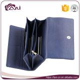 De blauwe Portefeuilles van de Beurs van de Koppeling van het Ontwerp Pu van Bowknot van de Kleur voor Vrouwen