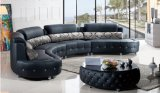 Muebles modernos de la sala de estar del sofá de cuero de la manera (HX-SN046)