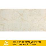 Бежевые мраморные плитки камня большого размера глазури полированной плиткой из фарфора