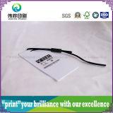 Impression sur papier de luxe Hang Tag (plastique, petite)