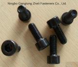 Gr10.9 DIN912 Hex Kontaktbuchse-Kopf-Kopfschraube mit schwarzem Ende