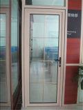 Дверь алюминия прикрепленная на петлях/французская с решеткой