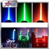 트럭 ATV UTV는 4FT 색깔 상아빛 관 LED 안전 채찍을 5FT 6FT 8FT 골라낸다